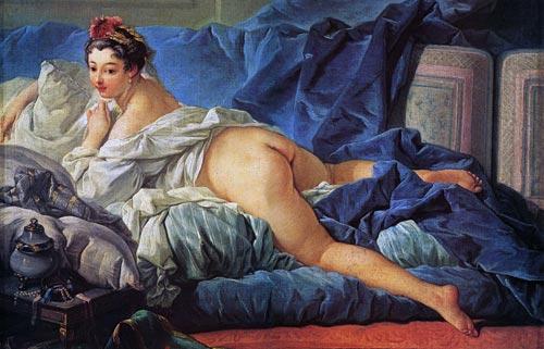 Entertaining Boucher nude on sofa opinion