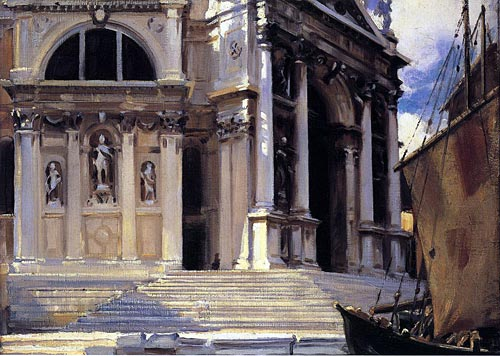 Santa Maria della Salute, John Singer Sargent art print on canvas