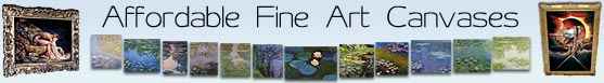 affordable fine art canvas